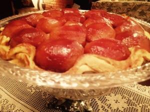 Tarte Tatin Clássica - usando a nossa massa de torta @bakeandcakebr