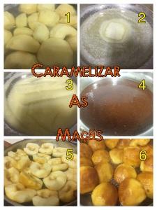 TARTE TATIN - Como Caramelizar as maçãs
