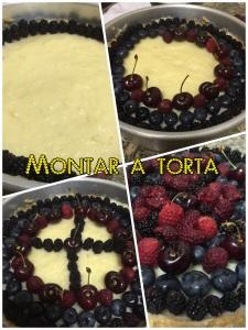 Como montar a torta de frutas vermelhas @bakeandcakebr