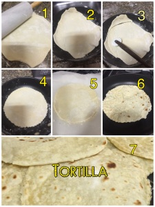 Como moldar as tortillas mexicanas @bakeandcakebr