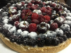 Torta de Frutas Vermelhas (do Amor) @bakeandcakebr