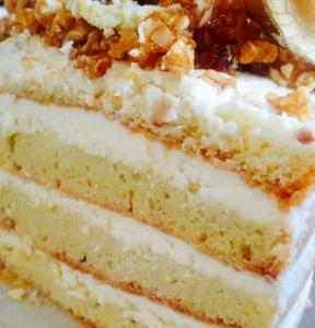 Naked Cake Crocmousse Chocobranco
