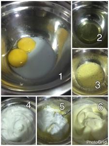 Omelete Suflê- como fazer parte I