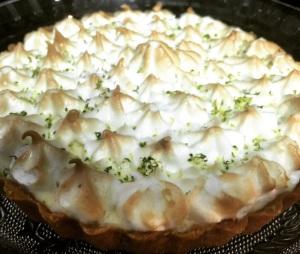 Torta Mousse de Limão Pronta!