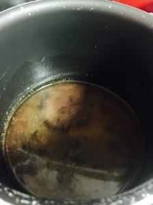 Preparo da Parte A - Líquida com Frutas Secas e Cristalizadas.